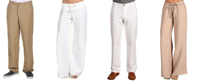 Как сшить брюки лен 139