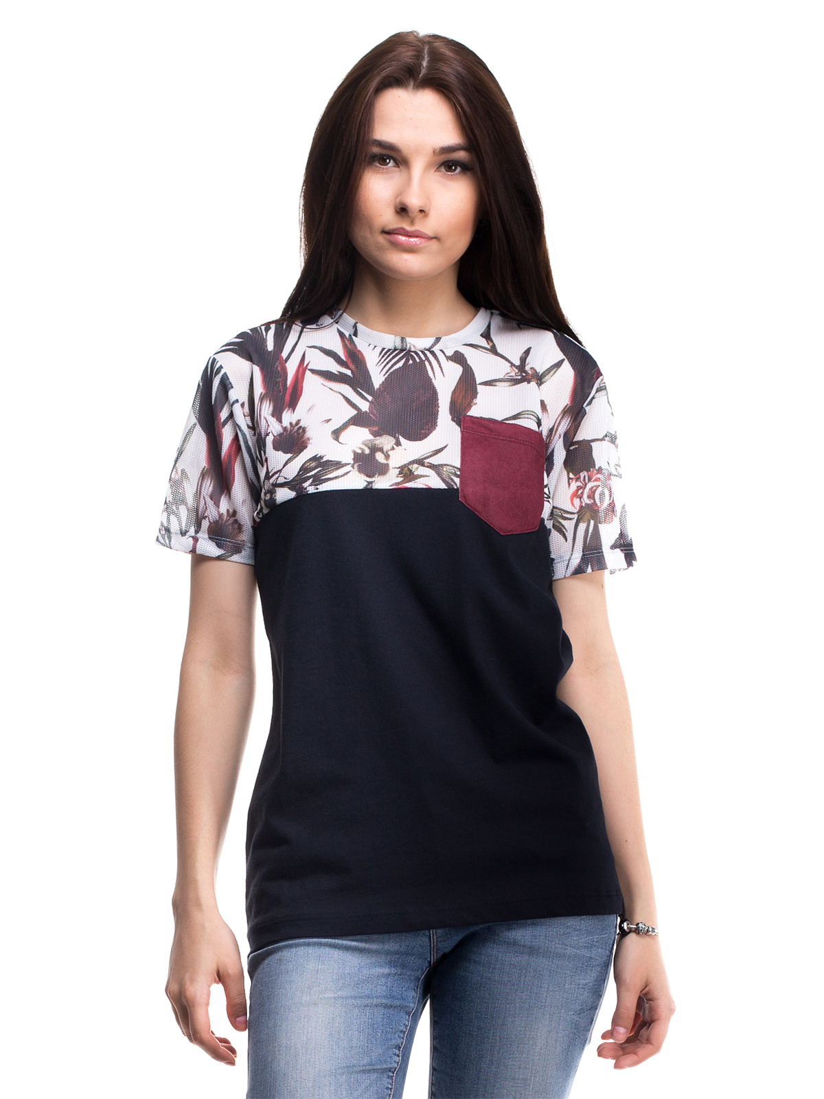 Комбинированные футболки своими руками 46
