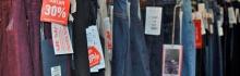 Распродажа: мужские и женские джинсы со скидкой!